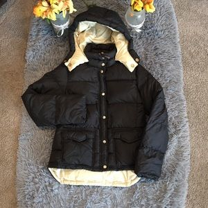 J.Crew Two Tone Puffer Jacket Size S